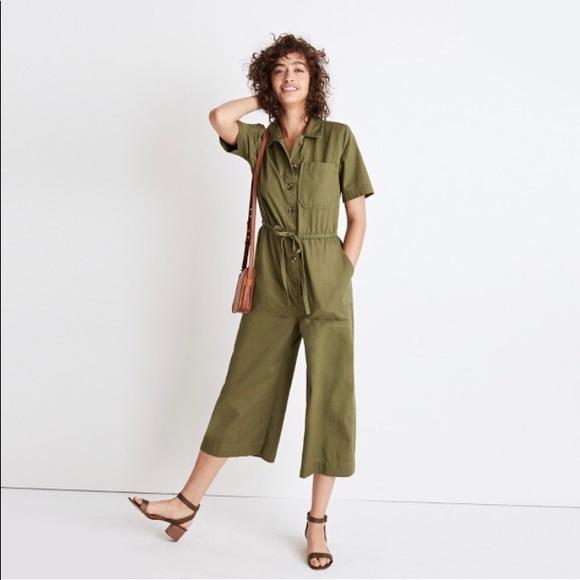 de89d16d39f Madewell Pants - Madewell wide-leg utility jumpsuit